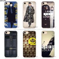 Чехол-бампер на айфон по мотивам Шерлока Холмса