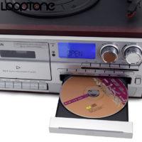 FM Проигрыватель виниловых пластинок, кассет, дисков Looptone