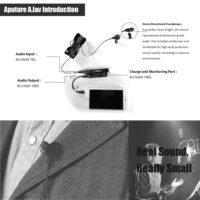 Aputure. lav петличный конденсаторный всенаправленный микрофон