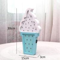 Светодиодный ночник в виде мороженого в детскую комнату