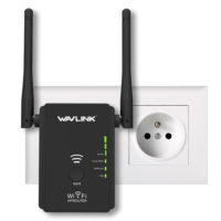Wavlink N300 WL-WN578R2 Беспроводной усилитель-репитер-ретранслятор WiFi сигнала с 2 антеннами 300 Мбит/с