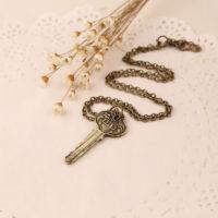 Цепочка с подвеской-ключом с номером квартиры 221B, где жил Шерлок Холмс