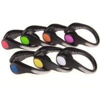 Светодиодные светящиеся накладки-клипсы на обувь