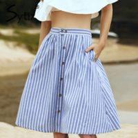 Топ 20 самых популярных женских юбок на Алиэкспресс - место 16 - фото 1