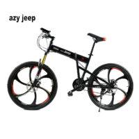 Велосипед Azy Jeep 26″ складной горный с дисковыми колесами, 21 скорость