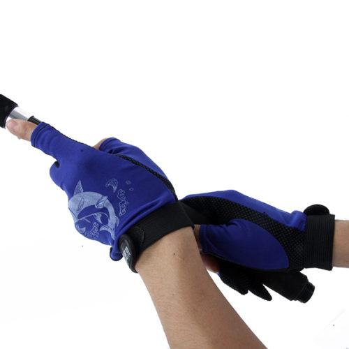 Противоскользящие перчатки для рыбалки