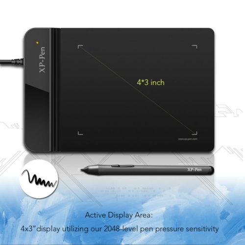 XP-Pen G430 графический планшет