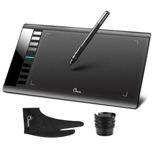 Parblo A610 графический планшет + ручка + перчатка