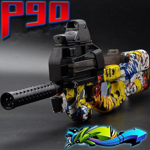 Игрушечный автомат P90, стреляющий шариками орбис
