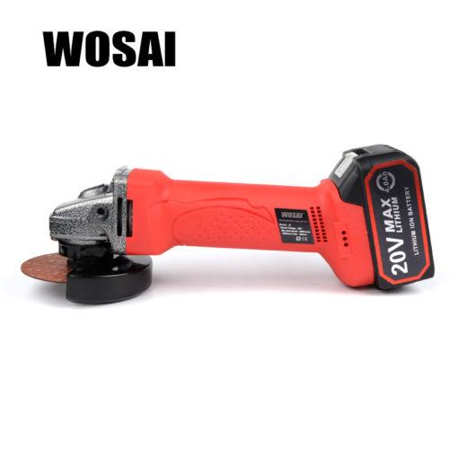 Аккумуляторная болгарка WOSAI