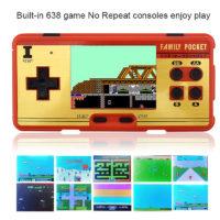 8-битная ретро портативная игровая консоль