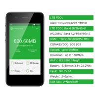 GlocalMe G3 4 г LTE мини роутер WI-FI точка доступа