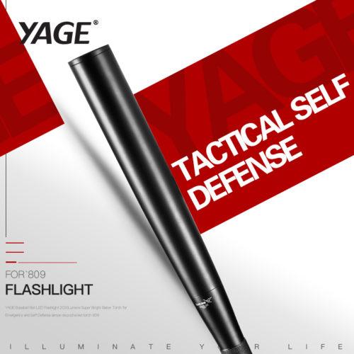 Бита фонарь для самообороны