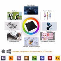 Топ 12 самых популярных графических планшетов для рисования на Алиэкспресс - место 9 - фото 5