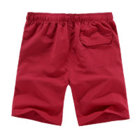Мужские летние легкие пляжные шорты до колен на резинке (разные цвета и большие размеры)