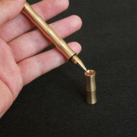 Латунная шариковая ручка в виде стебля бамбука