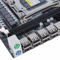 X79 4 DDR3 DIMM материнская плата для настольного компьютера LGA 2011