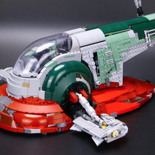 Конструктор Лепин Lepin 05037 Слэйв I из Звездных Войн 2067 деталей