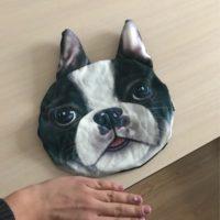 Наволочки накидки с 3D принтом животных для подголовников