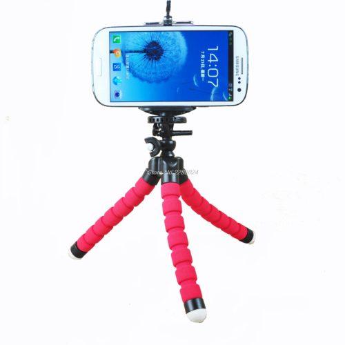 Дешевый гибкий мини-штатив осьминог для телефона