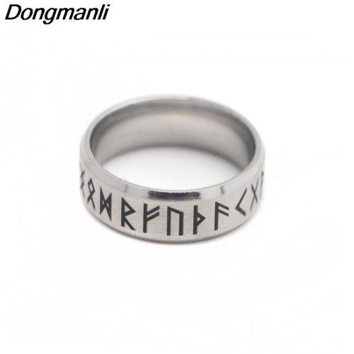 Кольцо со скандинавскими рунами
