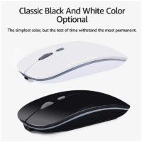 iMice Бесшумная ультратонкая беспроводная мышь для компьютера