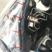 Бутиловый герметик для фар автомобиля