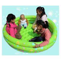 Детский надувной бассейн с мягким надувным дном (80, 100, 130, 150 см в диаметре)