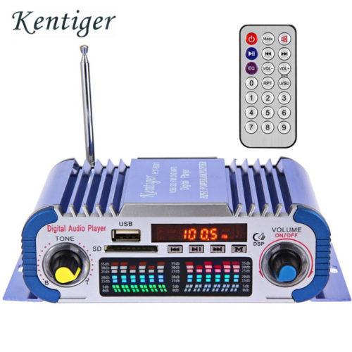 KENTIGER HY601 USB FM Автомобильный усилитель