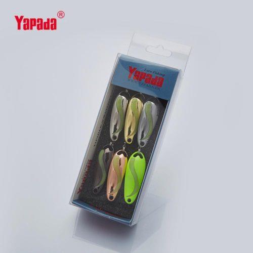 Микроблесны YAPADA с частичным флюоресцентным покрытием