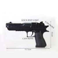 Игрушечный пистолет DIY конструктор Desert Eagle с пульками