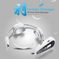 Мультифункциональный беспроводной электрический массажер для шеи