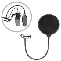 Стойка для микрофона с поп-фильтром