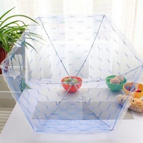 Москитная сетка-зонт-крышка для продуктов от мух