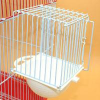 Клетка с пластиковым гнездом для попугая