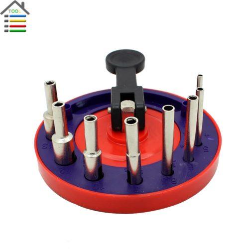 Сверла для керамики с кондуктором подставкой 4-13 мм