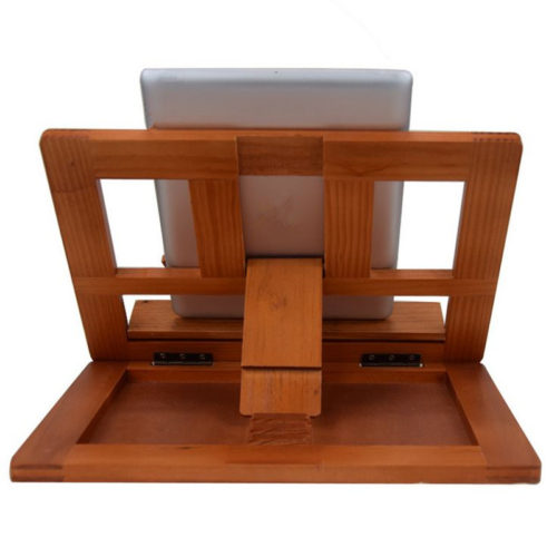 Настольная деревянная подставка-держатель для чтения книг