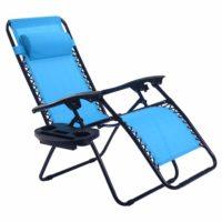 Складной стул-шезлонг для пикника, сада