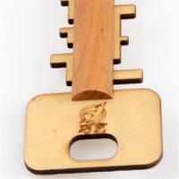 Деревянная головоломка Ключ Key Lock