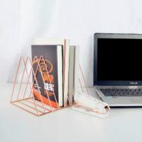 Настольная металлическая подставка для книг и документов