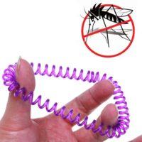 Браслет-спираль на руку от комаров