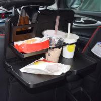 Универсальный складной автомобильный обеденный стол на заднее сиденье