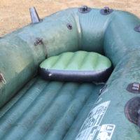 Надувное сиденье-пуф для лодки
