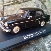 Модель машины Москвич 407 масштаб 1 к 43