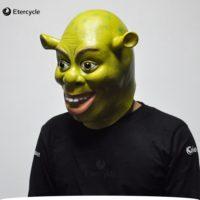 Латексная маска на голову Шрек