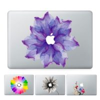 Виниловые наклейки стикеры WOW на ноутбук Macbook