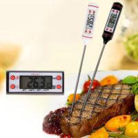 Цифровой термометр со щупом иглой для барбекю