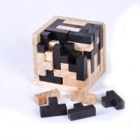 Деревянные головоломки разных фигур для взрослых и детей