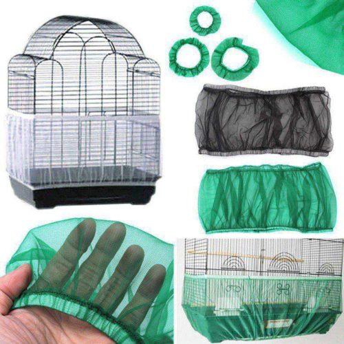 Сетка на клетку для попугаев от мусора