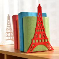 Настольные металлические подставки-держатели для книг в виде Эйфелевой башни